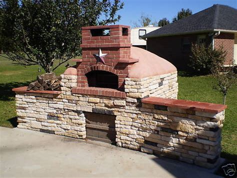 pizza outdoor brick oven kitchen cd wood fired pizza