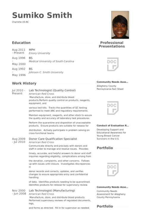 Lab Resume Exles by Quality Resume Format Resume Template Easy