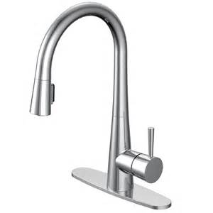 Aquasource Kitchen Faucet Aquasource 1 Handle Pull Down Sink Counter Mount Kitchen