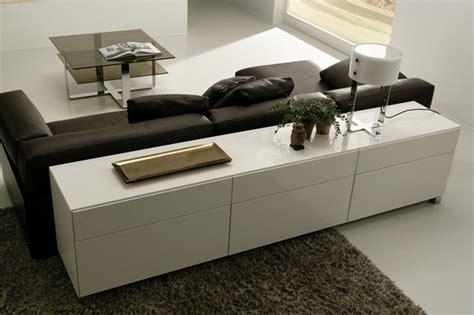 sideboard hinter sofa 35 modern living room wall systems
