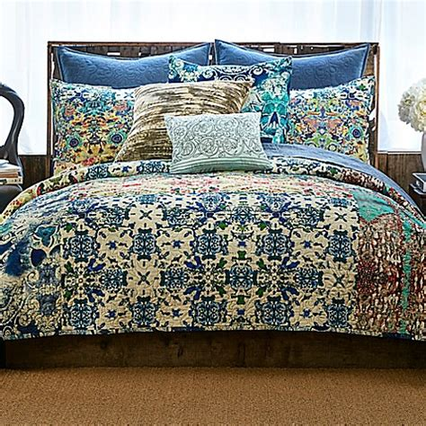 tracy porter bedding tracy porter 174 poetic wanderlust 174 astrid quilt in blue bed bath beyond