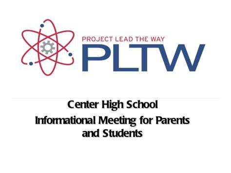 design brief project lead the way pltw parent night presentation