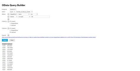 tutorial laravel cors html odata query builder html codedump io