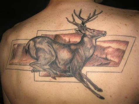 deer head tattoo design deer tattoos designs ideas and meaning tattoos for you