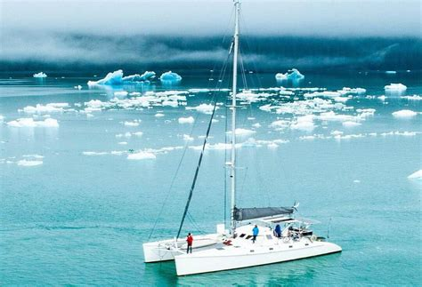catamaran cruise sf sf couple quits jobs to cruise the world on a stunning