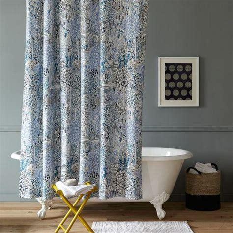 west elm shower curtains sarah cbell garden path shower curtain west elm