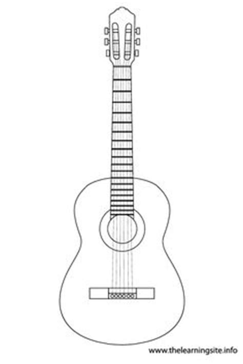 acoustic guitar template www pixshark com images