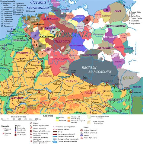 maps germania index of klio maps re re
