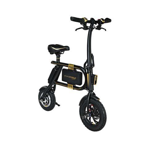 Li Ion Speedmax 2in1 Biru e bike that folds swagcycle an e bike by swagtron usa