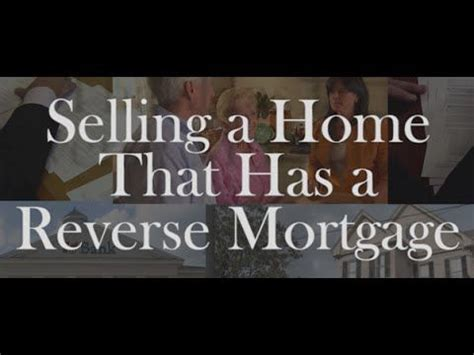 how to sell a house with a reverse mortgage this video is a replay of a live webcast realtor 174 magazine presented about selling a home that