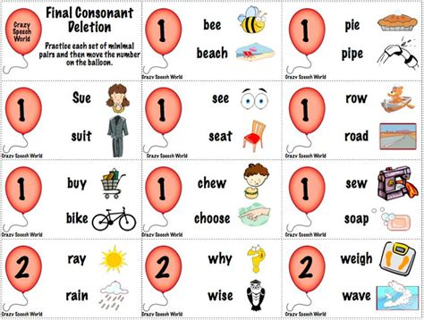 consonant deletion worksheets 17 best ideas about consonant deletion on speech therapy ideas for