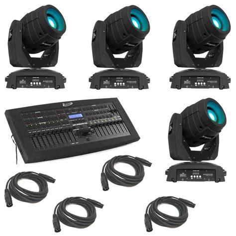 adj dmx operator pro lighting controller 4 intimidator spot led 350 moving yoke head chauvet