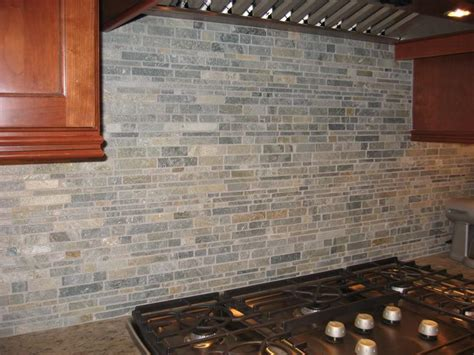backsplash ideas stacked backsplash