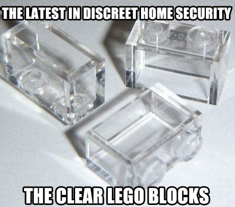 security for the modern home i you step on a lego