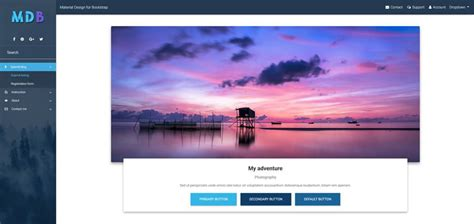 bootstrap tutorial essentials from basic to advanced bootstrap sidebar sidenav exles tutorial