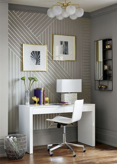 home office wallpaper 31 wallpaper accent walls that are worth pinning digsdigs
