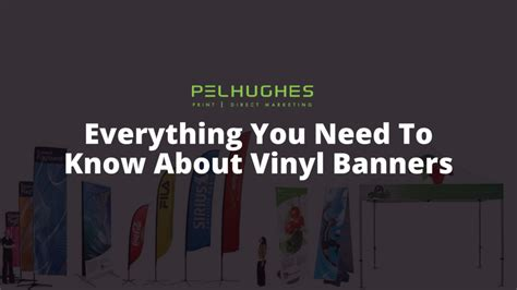 Everything You Need Vinyl - everything you need to about vinyl banners