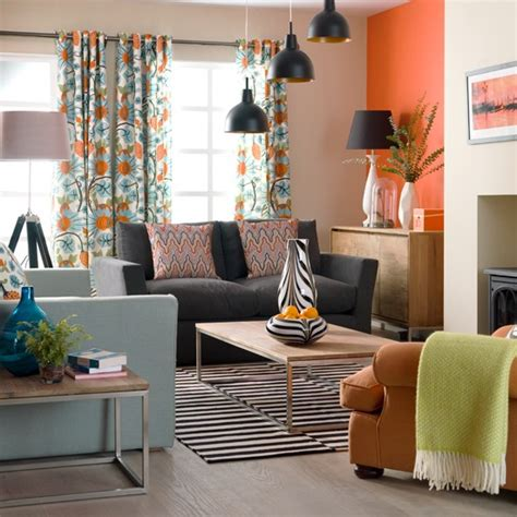 retro living room step inside a colourful contemporary home housetohome co uk