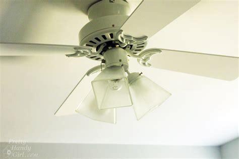 pretty ceiling fan 5 minute update for your ceiling fan pretty handy girl