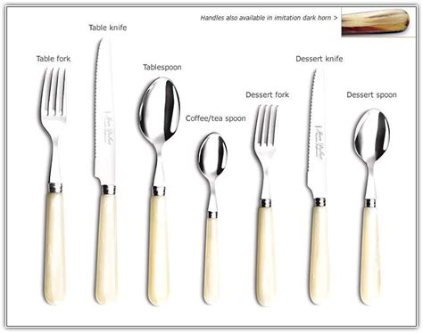 table cutlery set up cutlery setting dinner table home design ideas