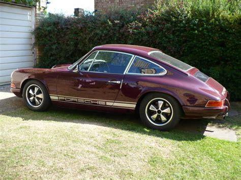 burgundy porsche porsche 911 22ltr st narrowbody replica sold 1970