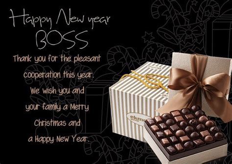 happy  year wishes  boss colleagues employees