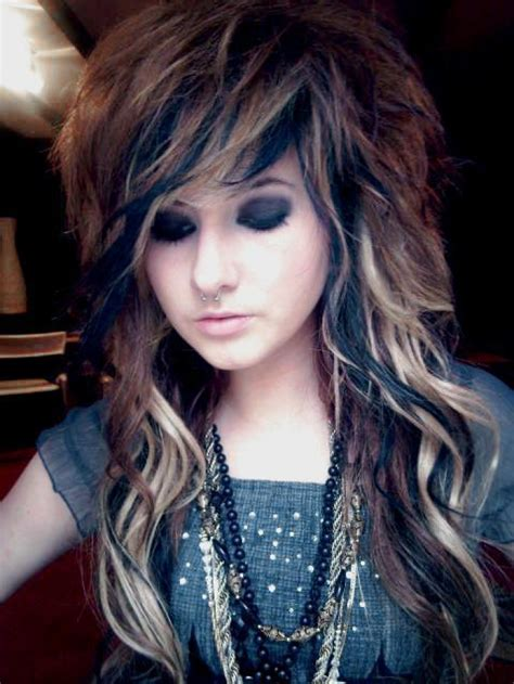 emo hairstyles for long hair girls emo hairstyles hairstyles ideas