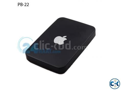 Powerbank Apple apple ipower power bank 12000mah black clickbd