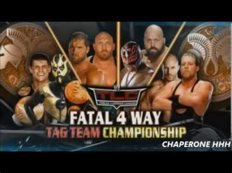 match card template tag team tlc 2013 match card fatal 4 way tag team match