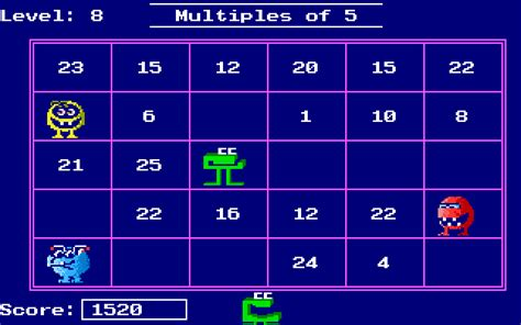 Download Number Munchers   My Abandonware