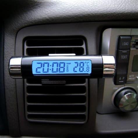 Jual Termometer Untuk Air baru jual termometer voltmeter jam digital untuk mobil