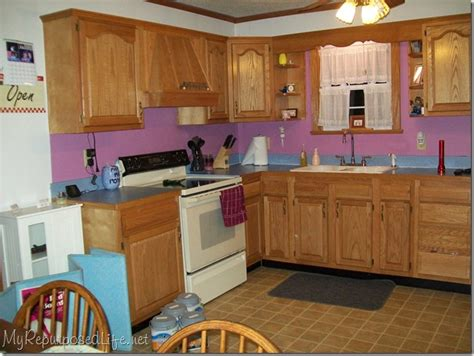 how to paint oak kitchen cabinets how i painted my oak cabinets hometalk