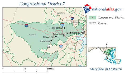 maryland map congressional districts maryland congressional district 7 map and 112th congress