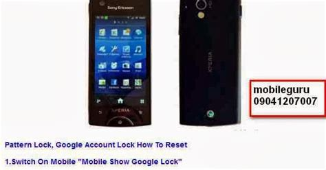 Hp Sony Xperia St18i mobile solutions sony ericsson xperia st18i reset