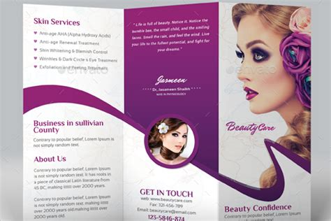 Sle Brochure Templates Free by Hair Salon Brochure Templates 31 Hair Salon Brochure