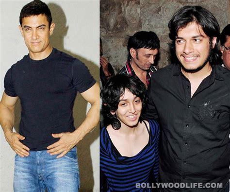 amir khan children photos will aamir khan produce son junaid s film bollywoodlife com