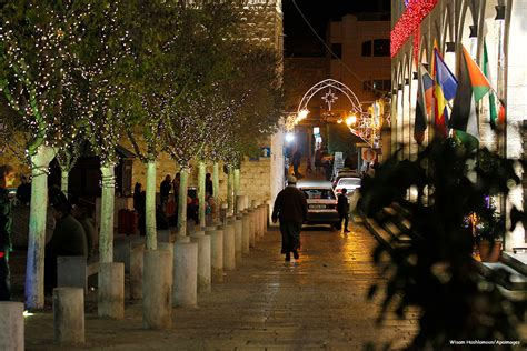 bethlehem decorations cheer in bethlehem middle east monitor