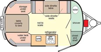 scamp floor plans rv trailers small deluxe 16 lightweight rv campers