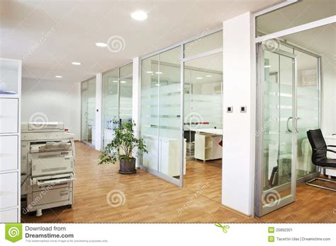 Door Colors For White House modern office interior stock image image of computers