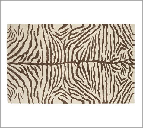 Pottery Barn Zebra Rug Sale Brand New Pottery Barn Zebra Area Rug Carpet 8x10 Rugs Carpets