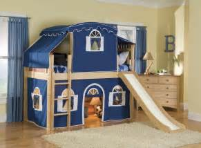 Toddler Bunk Bed With Slide Bunk Beds With Stairs And Desk Optional Tent Tower And Slide Loft Bed Warmojo