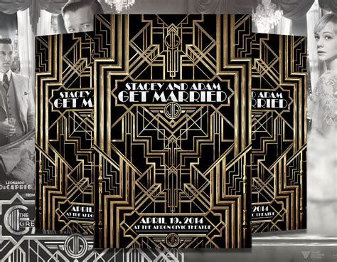 The Great Gatsby Flyer Psd Template Graphicfy Great Templates