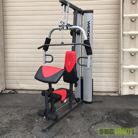 weider pro 6900 workout fitness exercise total home