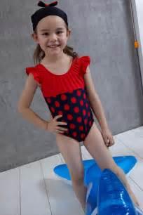 Home swimwear for kids girls swimming costumes girls navy anchor