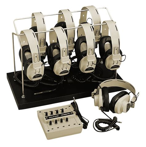 8 Rack Position by Califone Listening Center School Specialty Canada