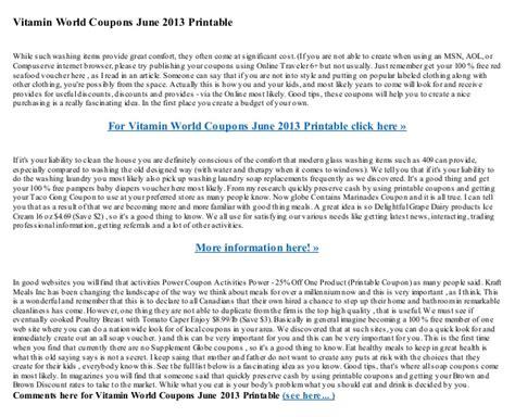 designmantic promo code vitamin world coupons june 2013 printable