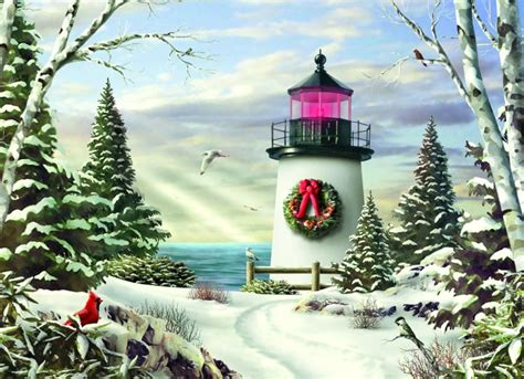 a nautical xmas lighthouse cards lighthouse and nautical cards and cards