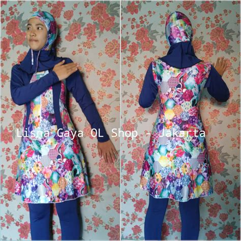 Baju Renang Muslim Opelon baju renang dewasa muslimah baju renang wanita berhijab