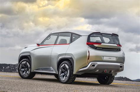 mitsubishi concept mitsubishi concept gc phev shows its futuristic design in