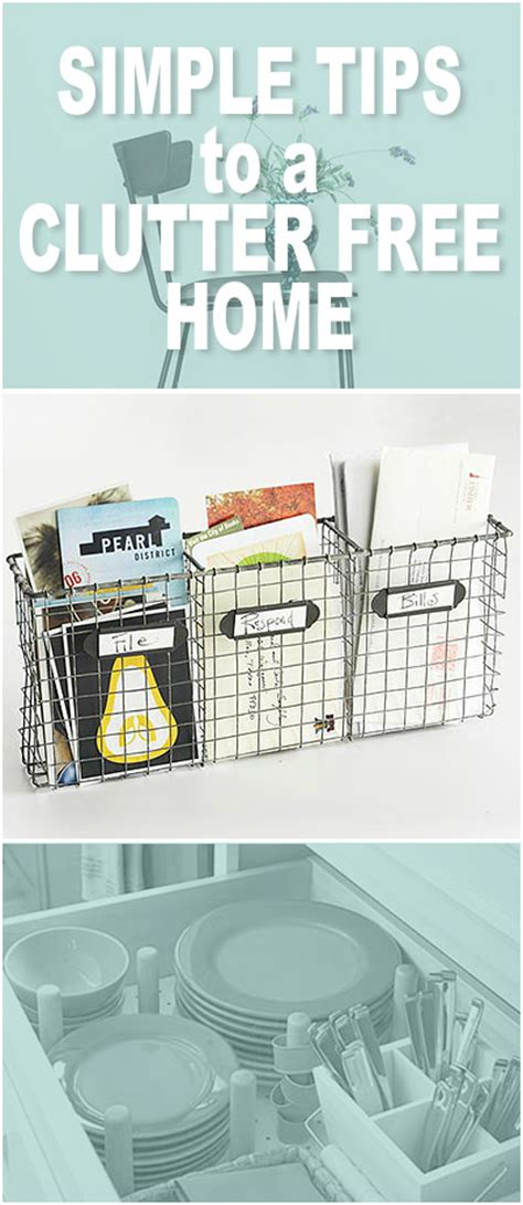 clutter free ideas on pinterest clutter free home simple tips to a clutter free home the budget decorator